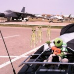 Me, Mr. Kalupa and his buddy from Geico, picked up some friends at Ellsworth Air Force Base in Rapid City.