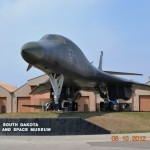 While at the Ellsworth Air Force Base, I saw a B1B Lancer at the South Dakota Air and Space Museum.