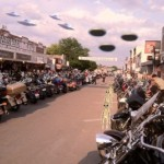 In 2011 over 416,727 visitors attended the Sturgis week rally. In 2012 visitors came from all corners to share in all the excitment and I'm guessing attendance will exceed 2011.