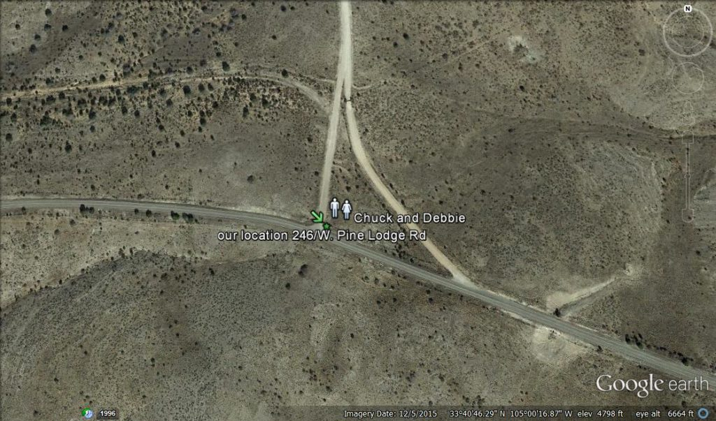 Roswell UFO location